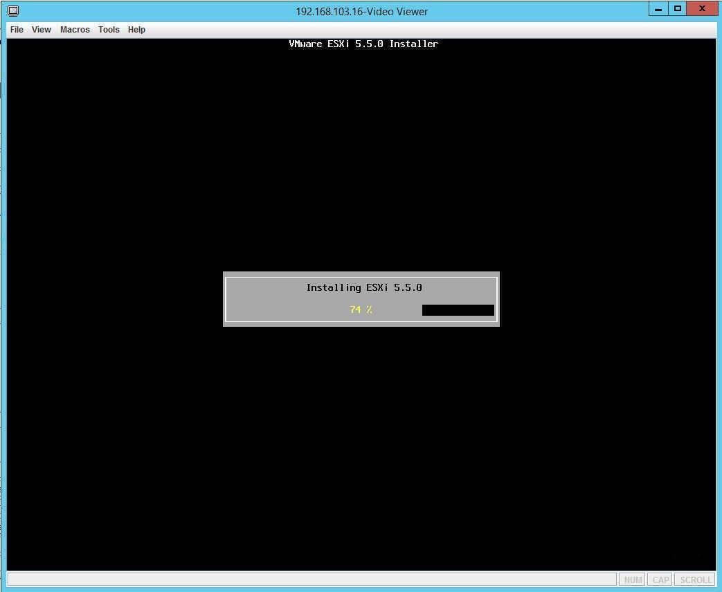 Установка VMware Esxi на флешку