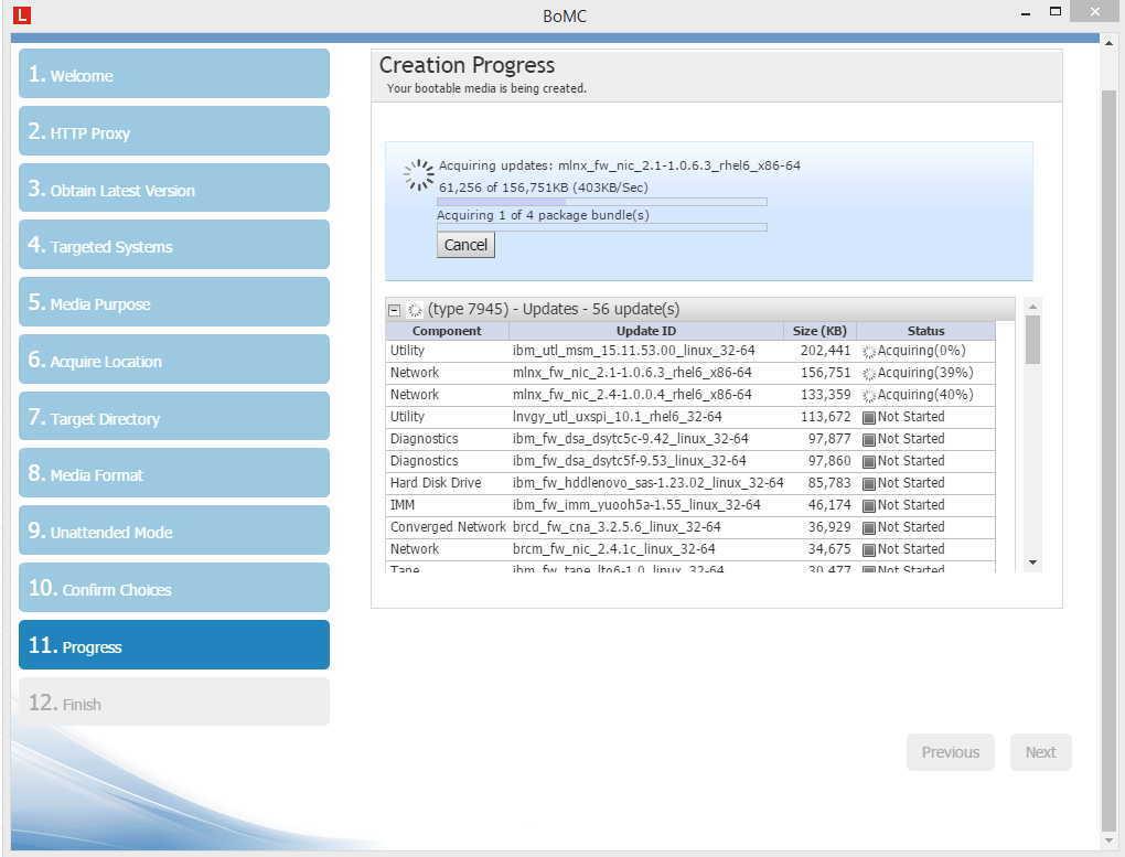 Как обновить firmware на сервере IBM_041