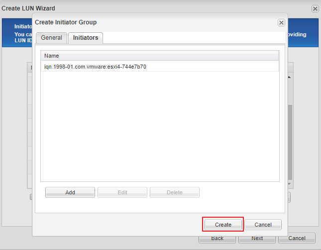 Как создать iscsi LUN на СХД NetApp_037-1