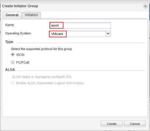 Как создать iscsi LUN на СХД NetApp_035-2